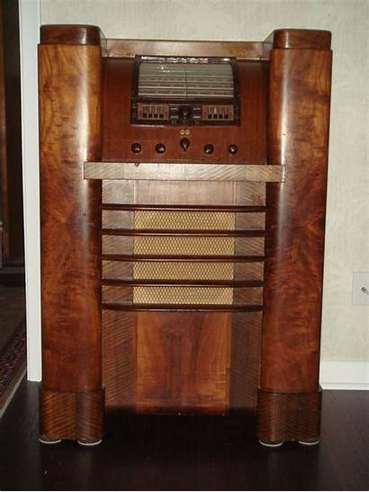 Radio Rca Console Tube Shortwave 816k Superheterodyne