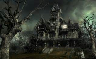 Best Halloween Attractions Los Angeles by Haunted House Halloween Wallpaper 16050692 Fanpop