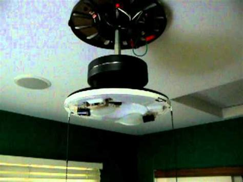 ceiling fan wobbles after being hit fan motor wobble mov