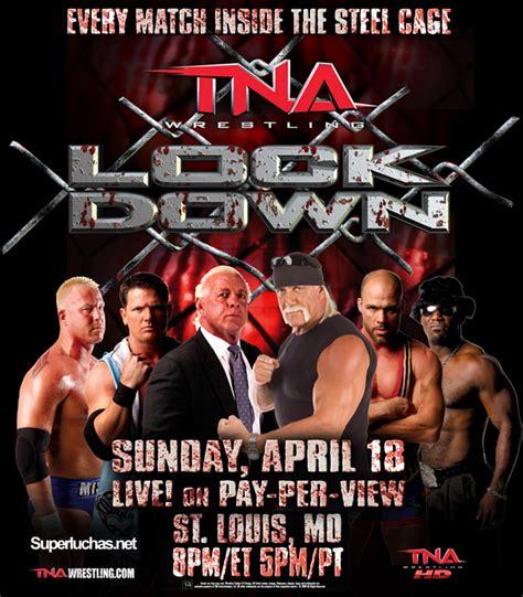 Poster de TNA Lockdown 2010 | Superluchas