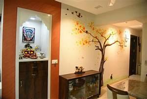 Pooja Room Designs in Hall - Pooja Room Home Temple