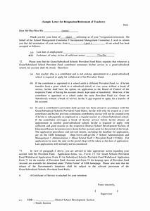 Retirement Letter To Employer 9 Official Resignation Letter Examples Pdf Doc Examples