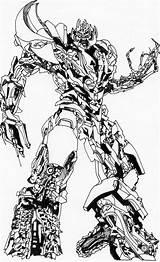 Megatron Drawing Drawings Getdrawings Mate Joke Done Paintingvalley sketch template