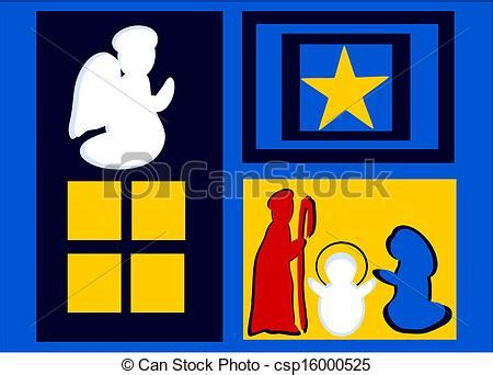 clipart presepe vector illustration of presepe cartolina per auguri