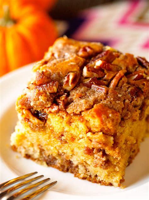 pumpkin coffeecake food  good mall