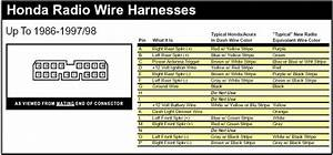 33 1998 Honda Accord Stereo Wiring Diagram
