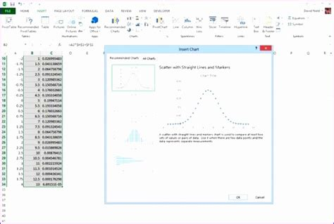 Excel Bell Curve Template Costumepartyrun