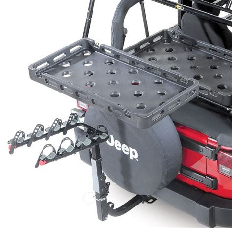 bestop 41412 01 highrock 4x4 tailgate rack bracket for