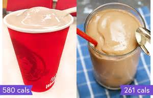 Wendy's Chocolate Frosty Calories