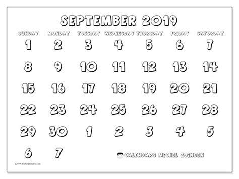 calendars september ss michel zbinden en