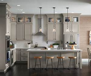 Stone Gray Laminate Cabinets - Aristokraft Cabinetry