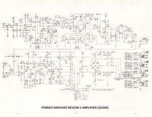Schematics For Fender  U0026quot Ii U0026quot  Series Rivera