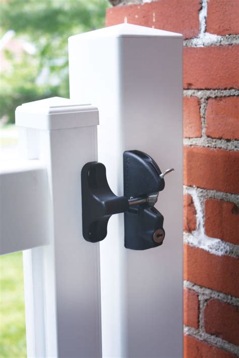 gate latch fairway architectural railing solutions