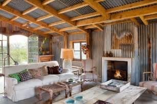 home interior materials rustic interior biarritz cabin lobster and swan