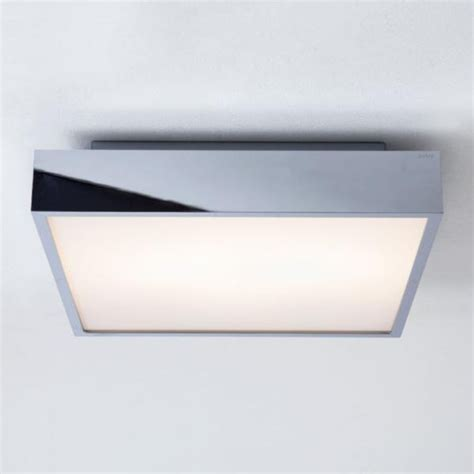 square bathroom light wall or ceiling mounted