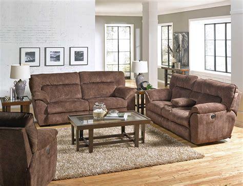 Catnapper Reclining Sofa Set by Catnapper Nichols Power Reclining Sofa Set Chestnut Cn