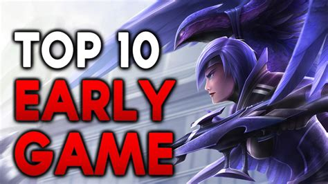 Top 10 Early Game Carry Champions (league Of Legends) Doovi