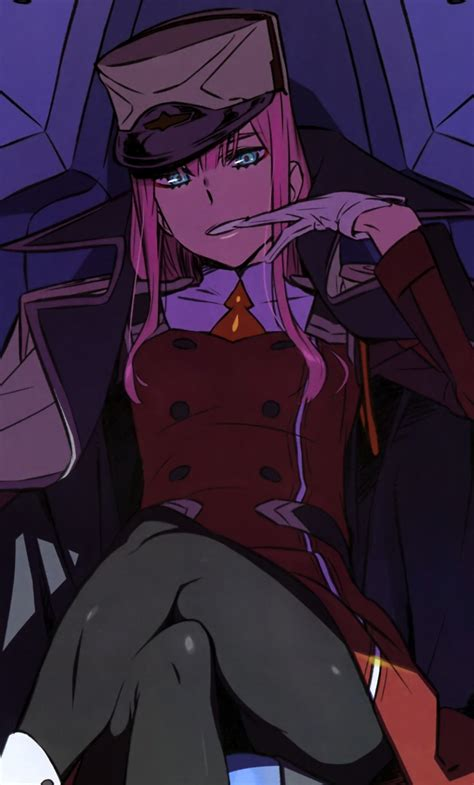 Anime Wallpaper For Two Phone - in the franxx zero two iphone wallpaper t
