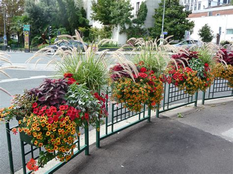 Jardinières Fleuries à Suresnes (hautsdeseine) Paris