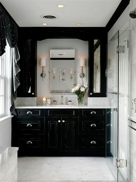 Smart Sophisticated Apartment Remodel by Decorating Ideas For A Monochrome Bathroom