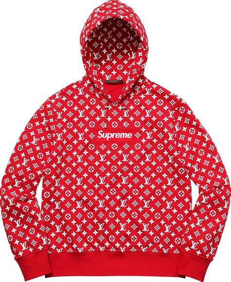 supreme clothing louis vuitton x supreme box logo hooded sweatshirt blvcks