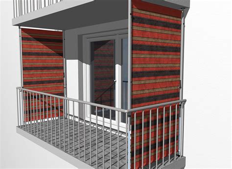 Balkon-sichtschutz Design Nr. 1300 Braun-terra