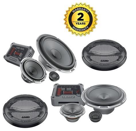 Hertz Mille Pro Mpk163.3 3 Way Component Car Speakers 6.5
