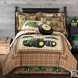 boys bed in a bag deere tractor boys comforter sheets 9315