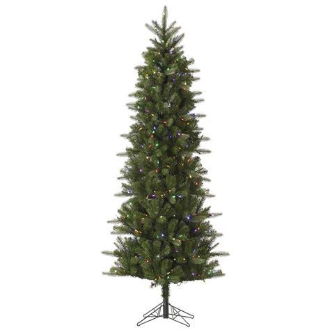 9 foot carolina pencil spruce christmas tree multi color