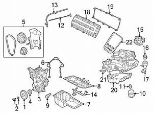 Jeep Grand Cherokee Engine Timing Cover