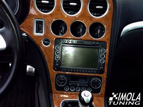 dash trim kit alfa romeo   manual gearbox
