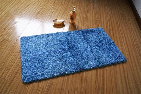 Modern Bathroom Rugs by Modern Rectangle Blue Skidproof Bathroom Mat Rug