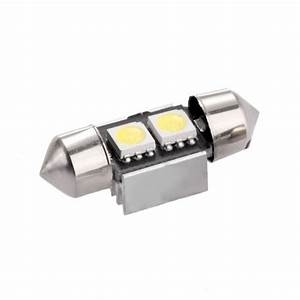Ampoule Led 12 Volts Voiture : ampoule c5w 31 mm 2 leds 5050 blanches 6 volts led effect ~ Medecine-chirurgie-esthetiques.com Avis de Voitures