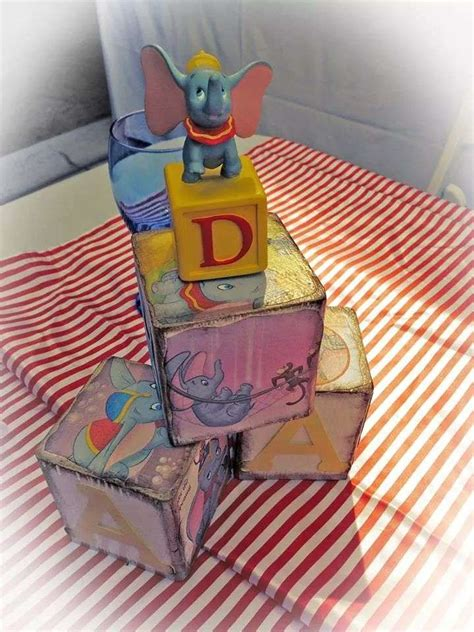 Dumbo Circus Baby Shower Party Ideas  Photo 6 Of 29