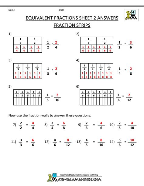 math worksheets   grade fractions  decimals