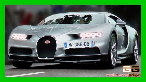 Bugatti Chiron Startup by Bugatti Chiron Start Sound Revs Festival Bugatti