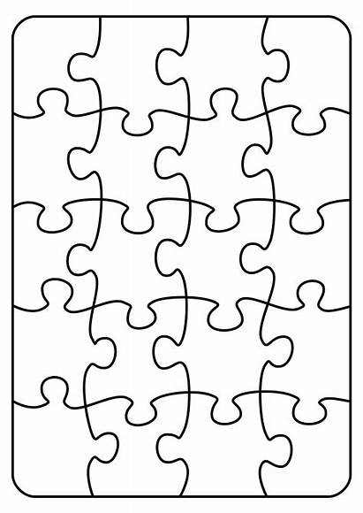 Puzzle Transparent Pattern Clipart Jigsaw Template Piece