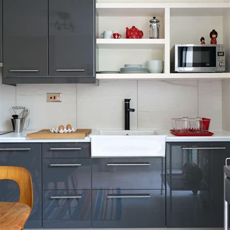 white gloss kitchen ideas modern high gloss grey kitchen kitchen decorating