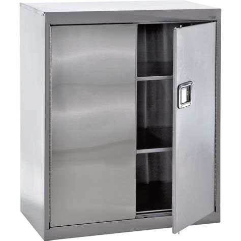 metal kitchen storage cabinets sandusky buddy stainless steel storage cabinet 36in w x 7466