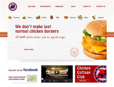 chicken cottage franchise world s fast food restaurant chains websites for