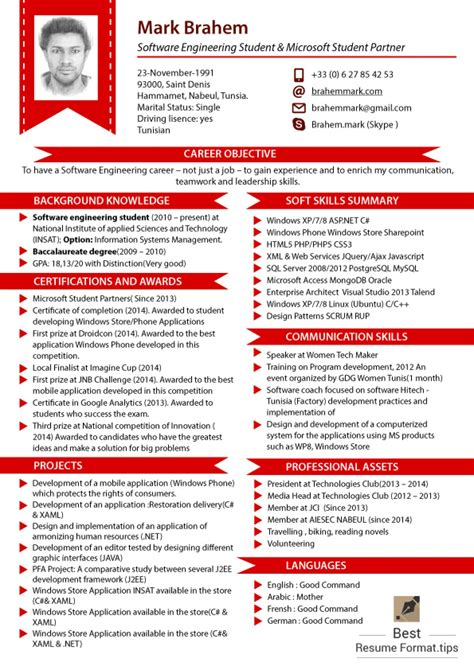 Professional Resume Format 2016 by 50 Best Resume Sles 2016 2017 Resume Format 2016