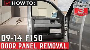 2009-2014 F150 Door Panel Removal Instructions