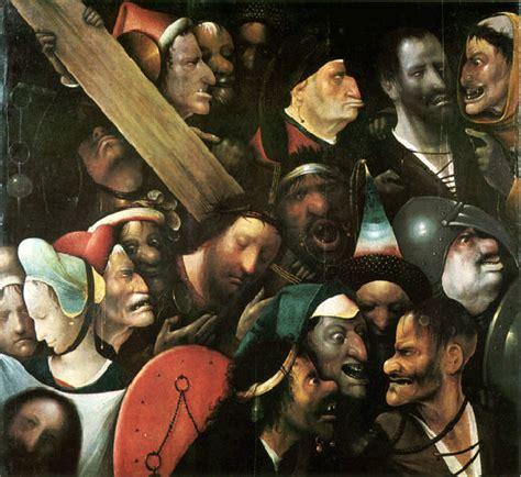le portement de croix de j 233 r 244 me bosch peintre surr 233 aliste