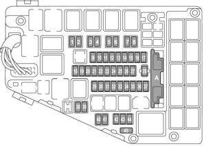 F 15e Engine Compartment Diagram by Subaru Outback 2017 Fuse Box Diagram Auto Genius