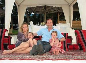 Jason Isaacs and wife and his two daughters I'm guessing ...