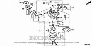 Honda Fc600 A Rototiller  Jpn  Vin  Famj