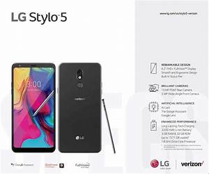 Verizon Lg Stylo 5 Manual    User Guide