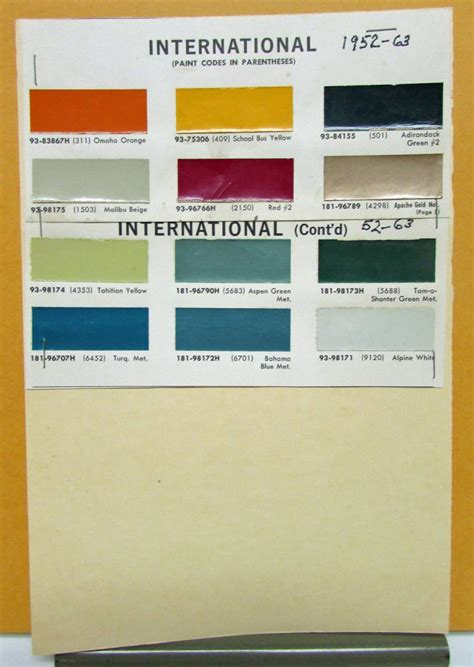 international paint color codes take a look these 20 international paint colour codes