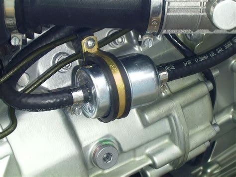 external fuel filter modification