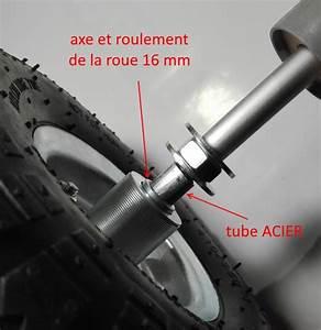 Roue De Brouette Avec Axe : construction chariot pvc ~ Melissatoandfro.com Idées de Décoration